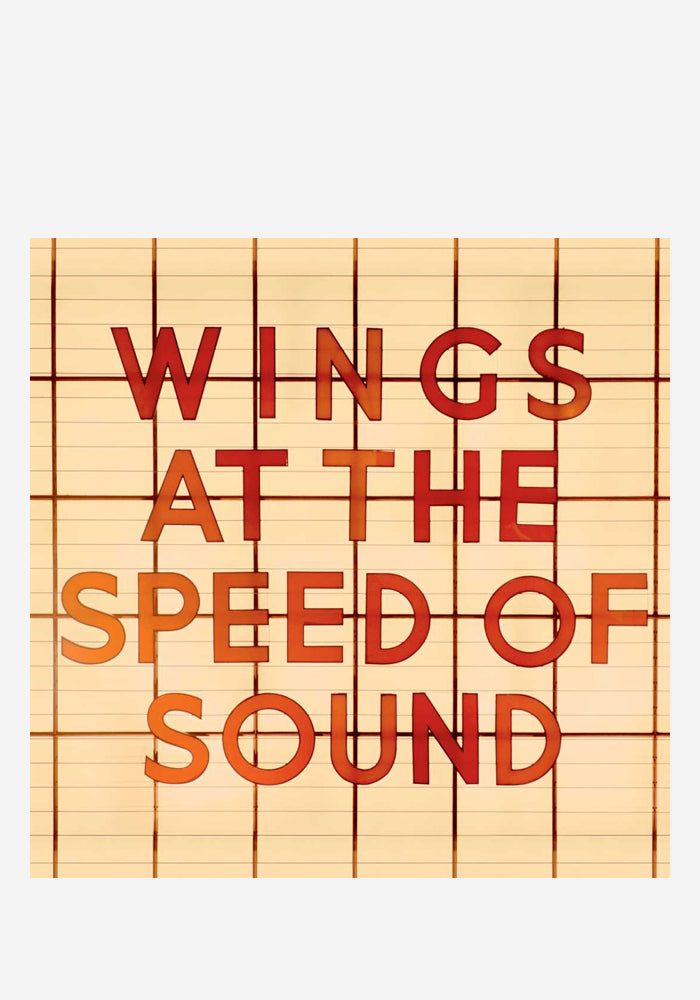 PAUL MCCARTNEY AND WINGS At The Speed Of Sound LP Color