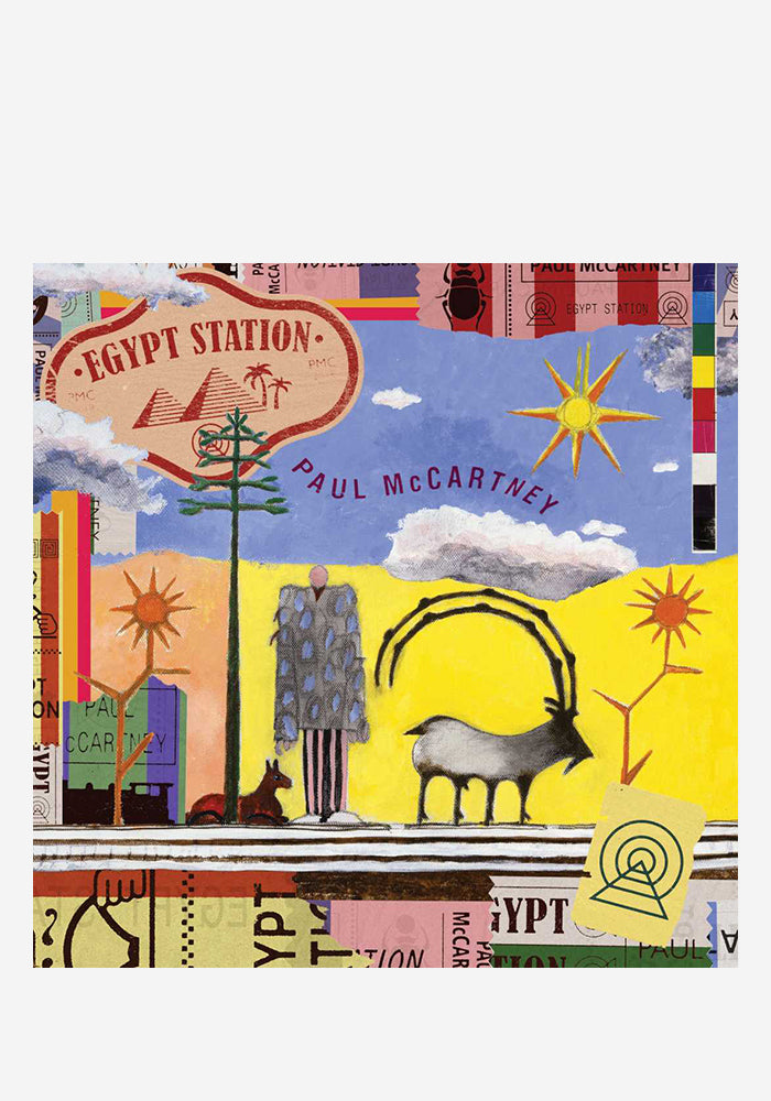 PAUL MCCARTNEY Egypt Station Deluxe Edition 2 LP