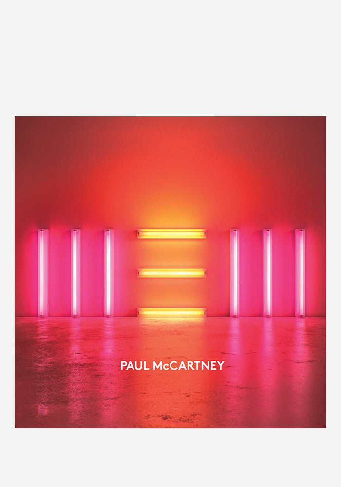 PAUL MCCARTNEY New LP (Color)
