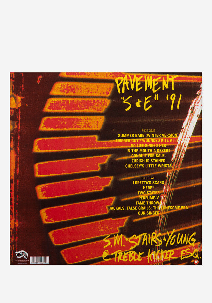 PAVEMENT Slanted And Enchanted Exclusive LP