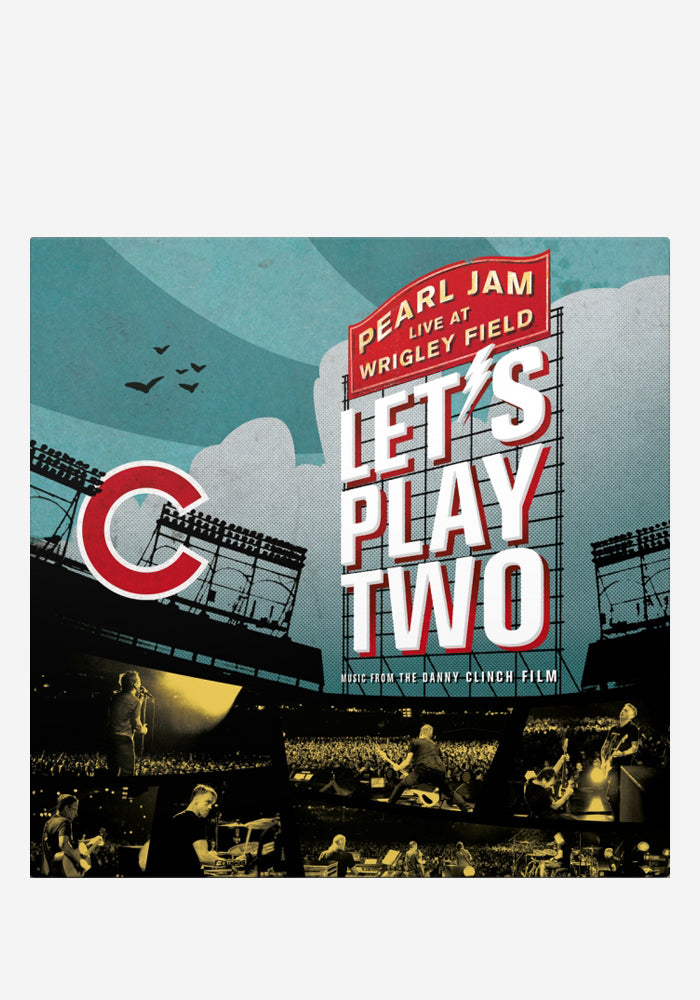 PEARL JAM Let's Play Two 2 LP