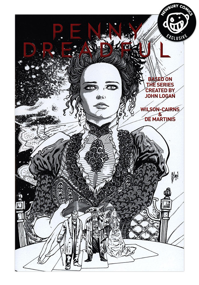 TITAN COMICS Penny Dreadful #1 Guillem March Exclusive Variant Comic