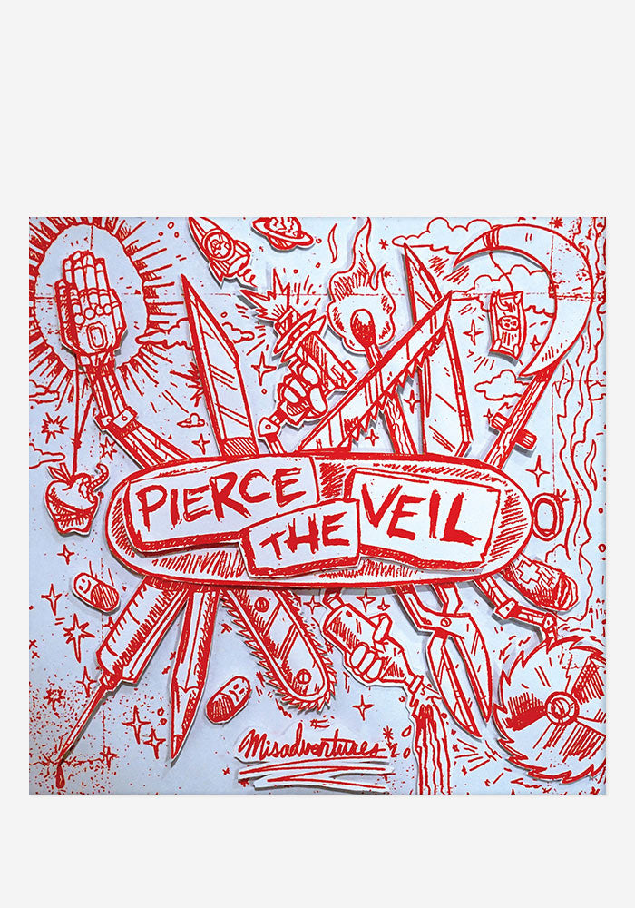 PIERCE THE VEIL Misadventures LP