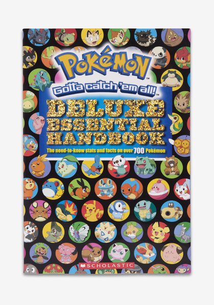 Pokemon Pokemon Deluxe Essential Handbook Newbury Comics