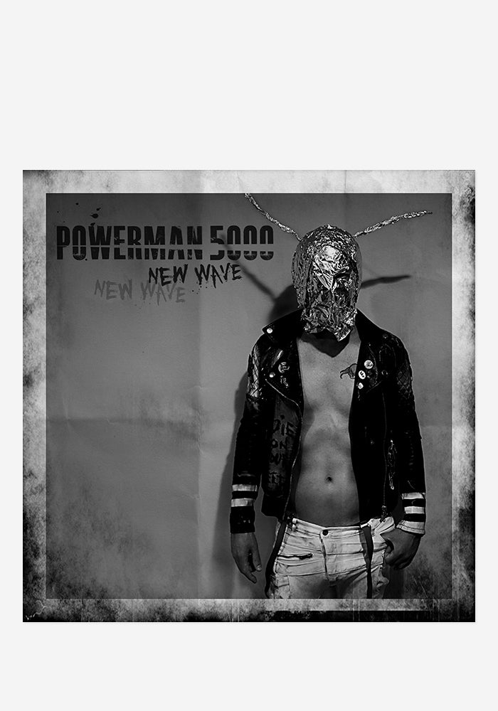 POWERMAN 5000 New Wave With Autographed CD Booklet