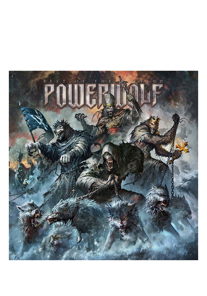 POWERWOLF Best Of The Blessed Deluxe 2CD Mediabook (Autographed)