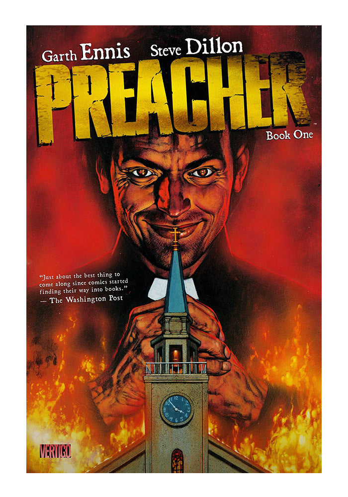 DC COMICS Preacher Book One Graphic Novel