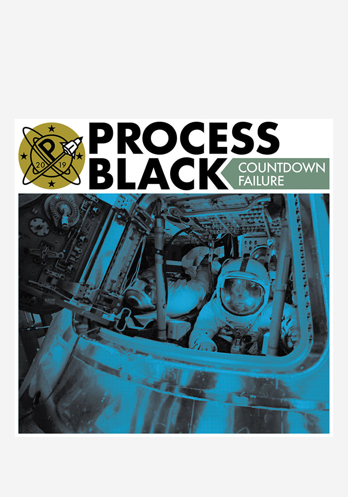 "PROCESS BLACK Countdown Failure 7"" EP"