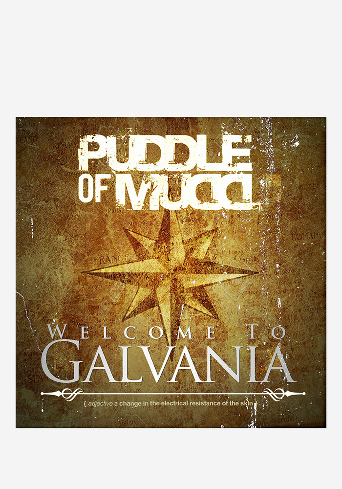 PUDDLE OF MUDD Welcome To Galvania CD (Autographed)