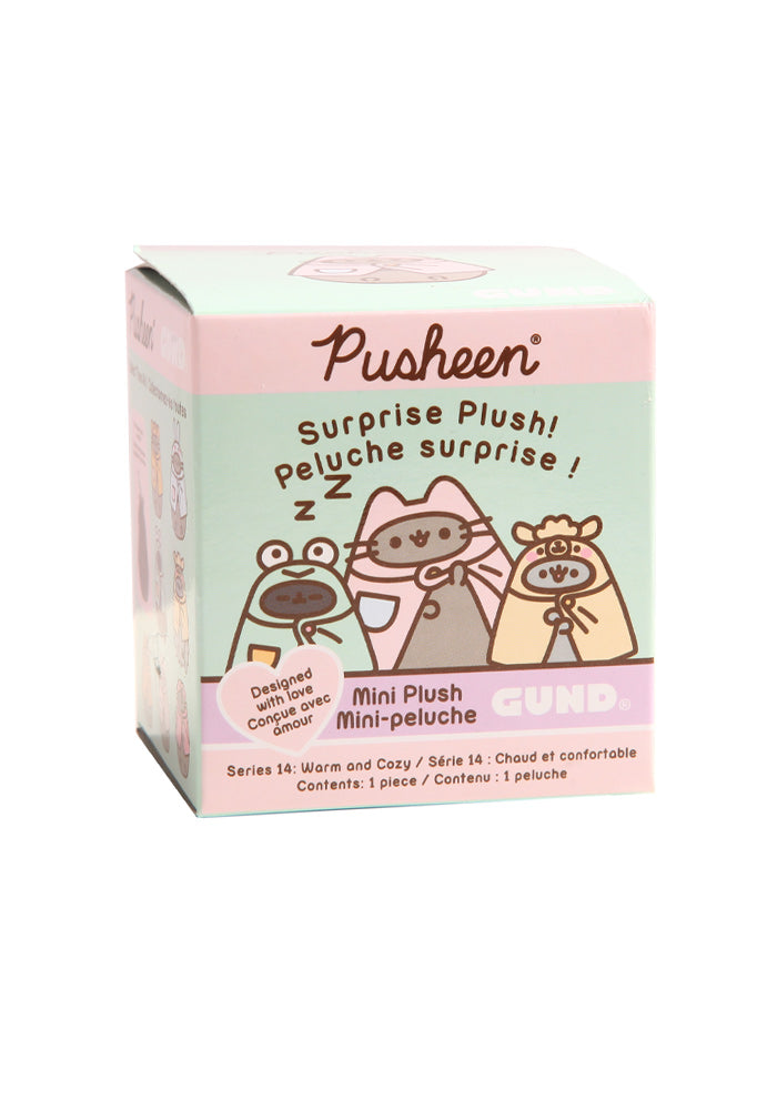 PUSHEEN Pusheen Surprise Plush Blind Box - Cozy & Warm (Series 14)