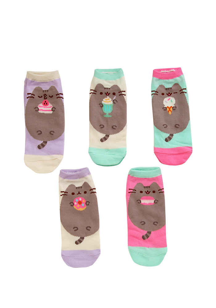 PUSHEEN Pusheen Sweet Treats Ankle Socks 5-Pack