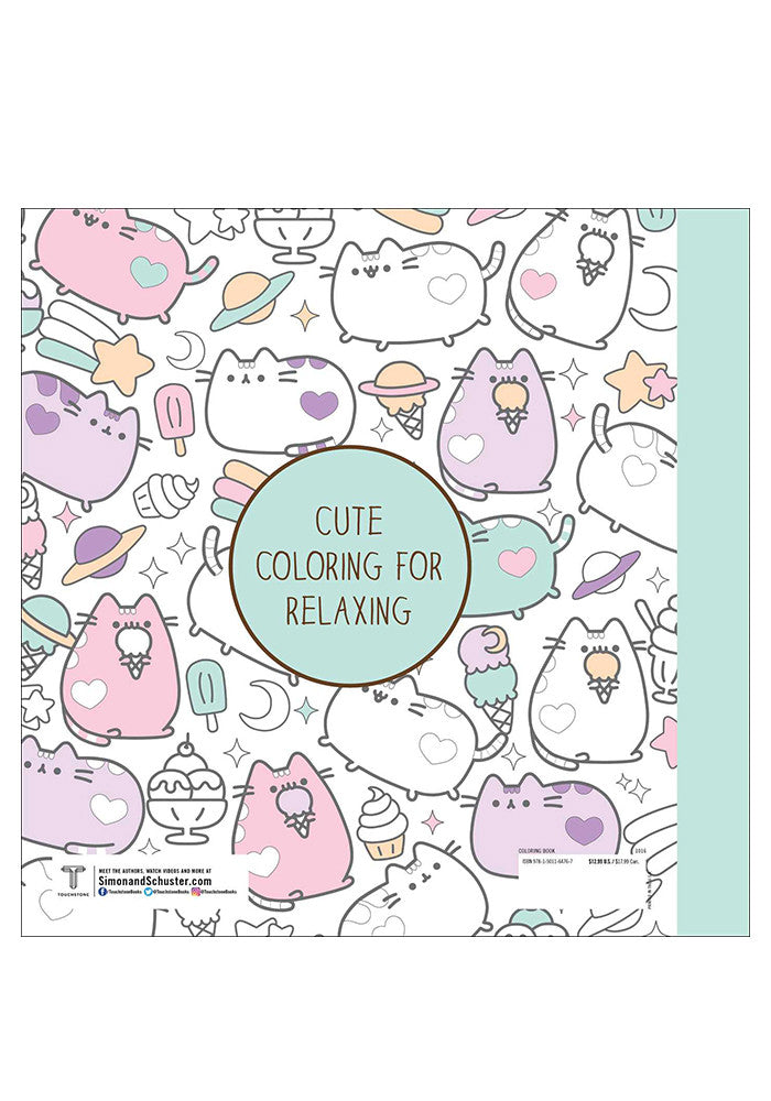 PUSHEEN-Pusheen Coloring Book Newbury Comics