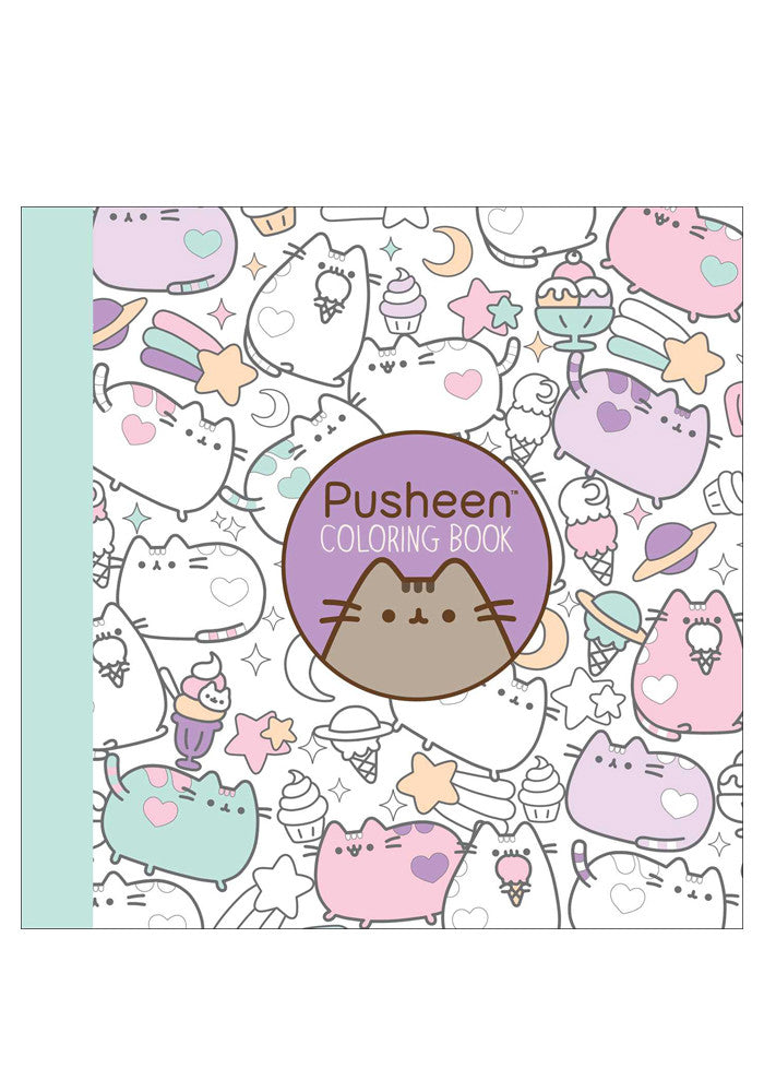 Pusheen Pusheen Coloring Book Newbury Comics
