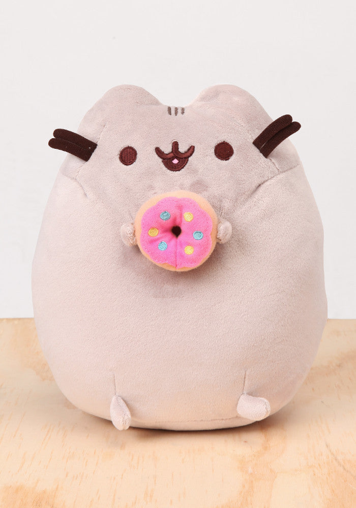 "PUSHEEN Pusheen with Donut 9.5"" Plush"