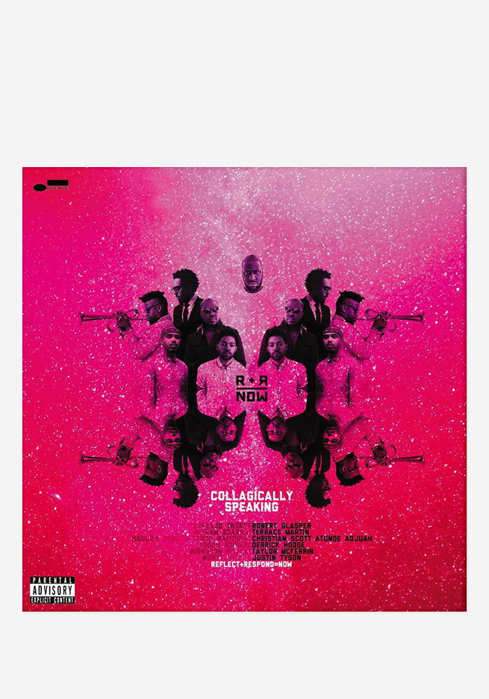 R+R=NOW Collagically Speaking With Autographed CD Booklet
