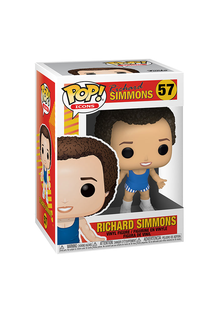 RICHARD SIMMONS Funko Pop! Icons: Richard Simmons