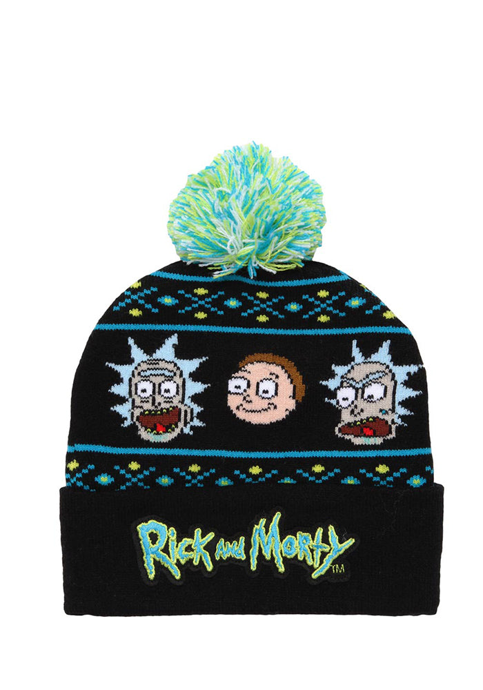 RICK AND MORTY Rick And Morty Human Holiday Beanie