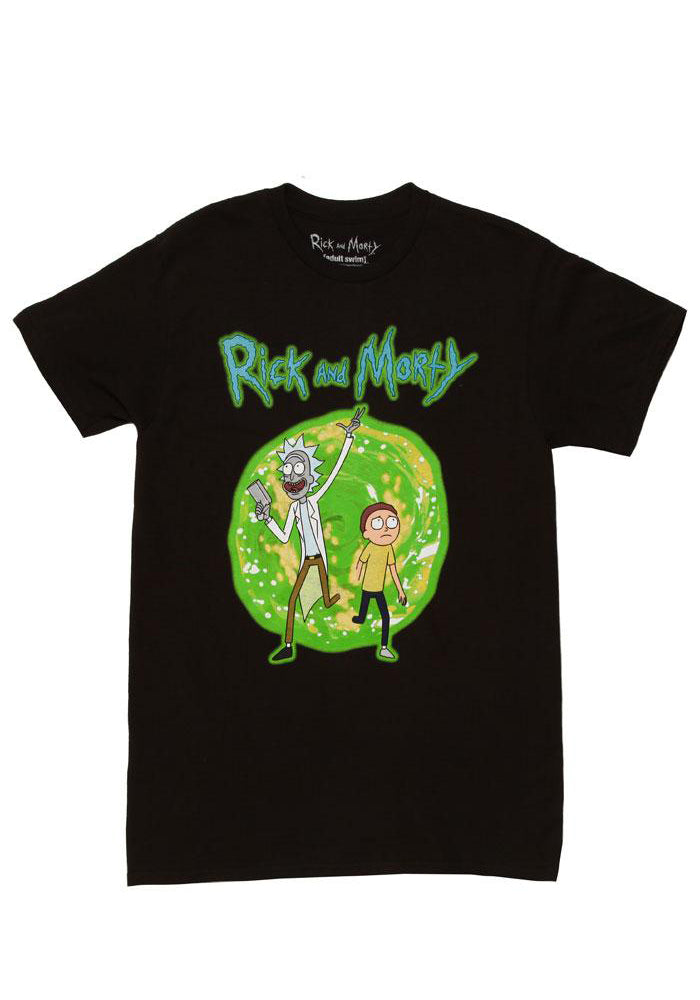 RICK AND MORTY Exiting Portal T-Shirt