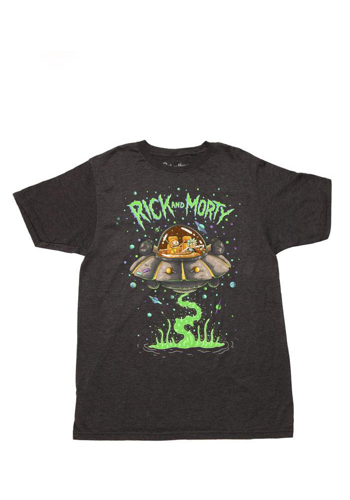 RICK AND MORTY Rick And Morty Spaceship T-Shirt