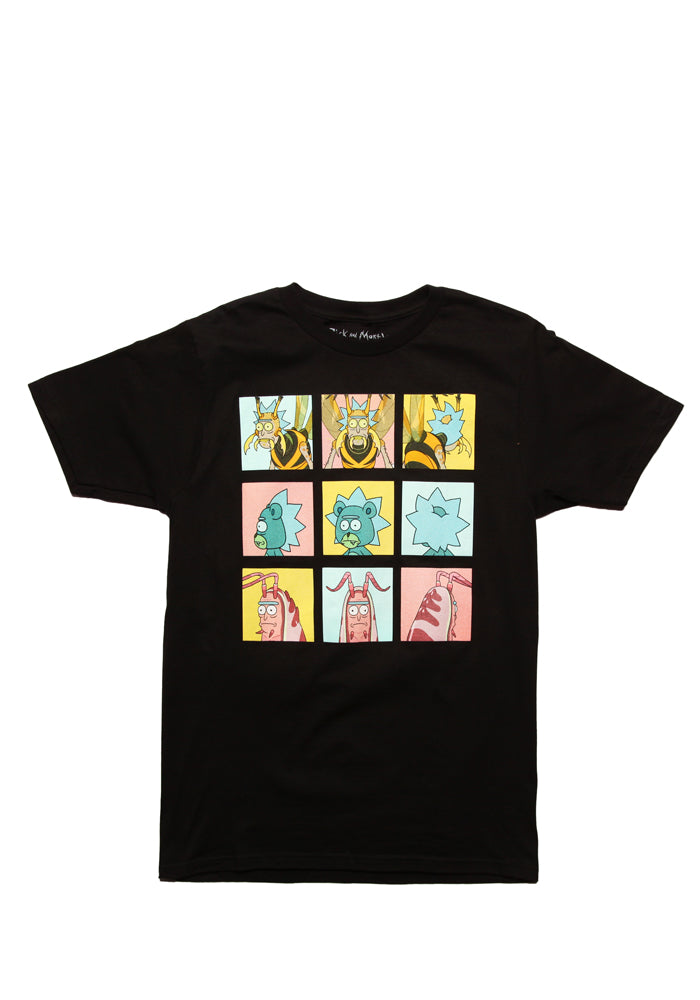 RICK AND MORTY Bug Squared T-Shirt