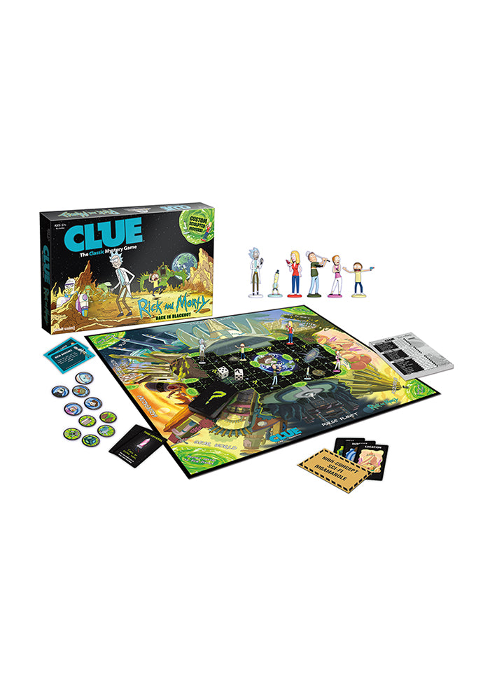 RICK AND MORTY Clue: Rick And Morty Board Game
