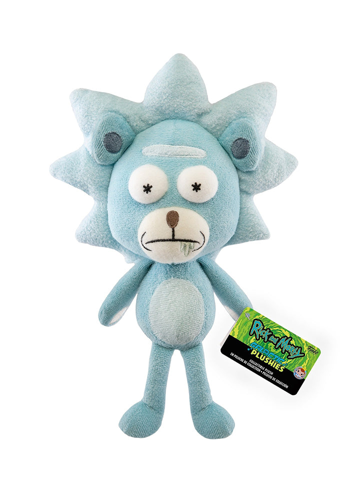 RICK AND MORTY Funko Galactic Plushies: Rick and Morty - Teddy Rick