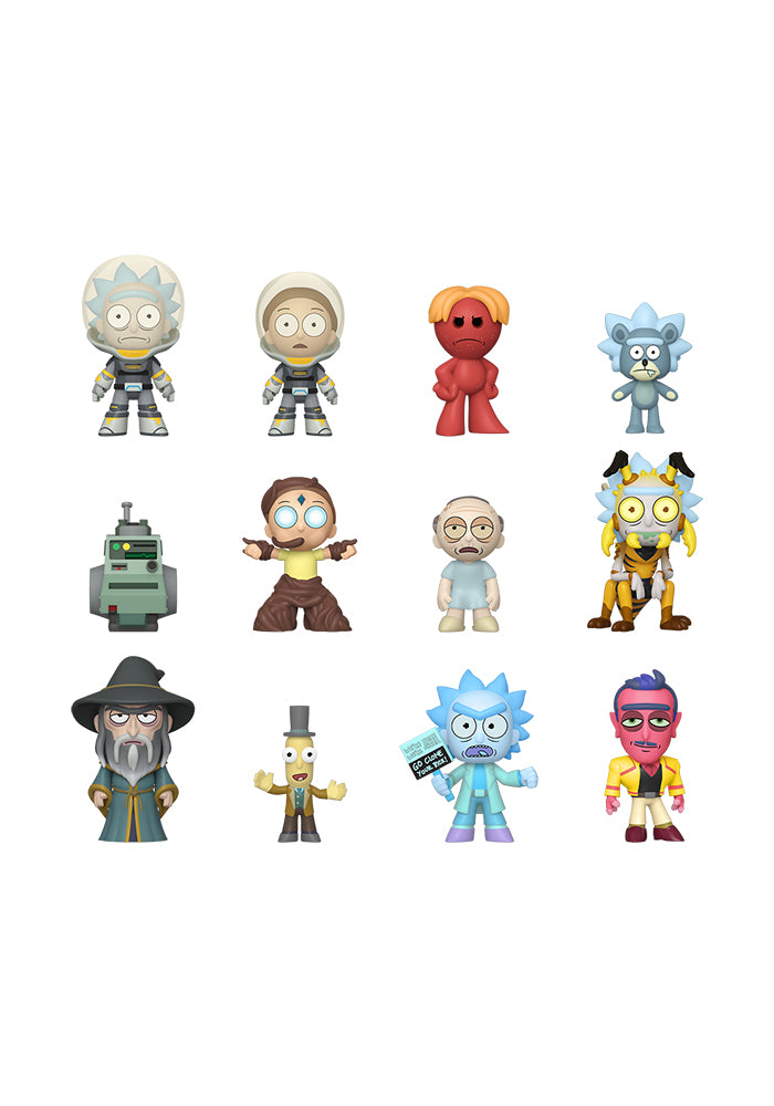 RICK AND MORTY Funko Mystery Minis: Rick And Morty Blind Box (Series 2)