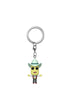 RICK AND MORTY Funko Pocket Pop! Keychain: Rick And Morty - Mr. Poopy Butthole Auctioneer