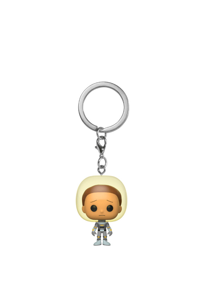 RICK AND MORTY Funko Pocket Pop! Keychain: Rick And Morty - Space Suit Morty