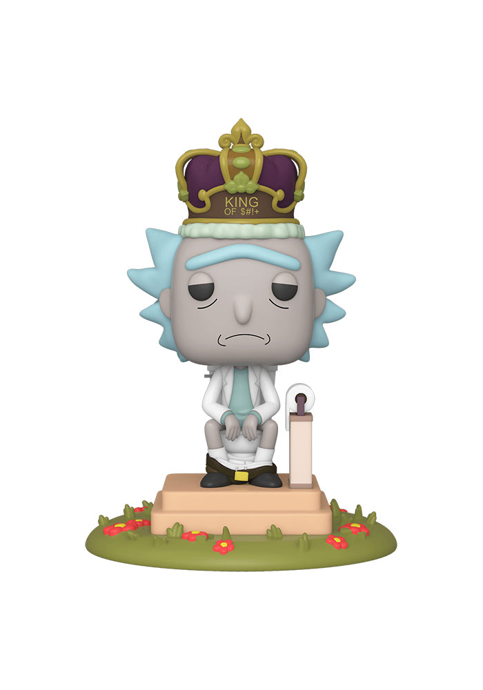RICK AND MORTY Funko Pop! Animation: Rick And Morty - King Of $#!+ With Sound