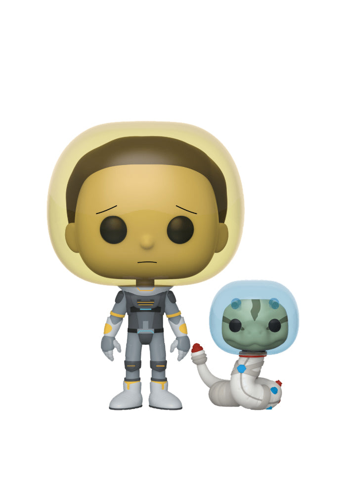 RICK AND MORTY Funko Pop! Animation: Rick And Morty - Space Suit Morty With Snake