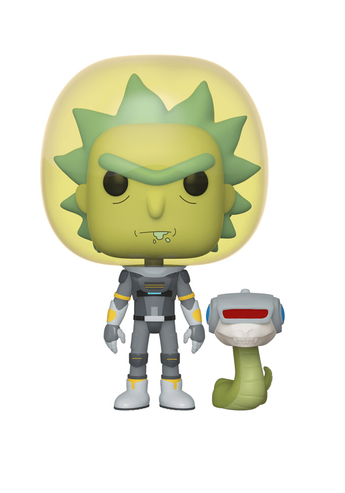 RICK AND MORTY Funko Pop! Animation: Rick And Morty - Space Suit Rick With Snake