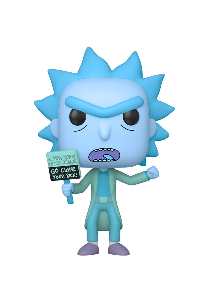 RICK AND MORTY Funko Pop! Animation: Rick And Morty - Hologram Rick Clone