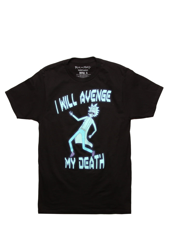 RICK AND MORTY I Will Avenge My Death T-Shirt