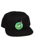 RICK AND MORTY Middle Finger Portal Snapback Hat