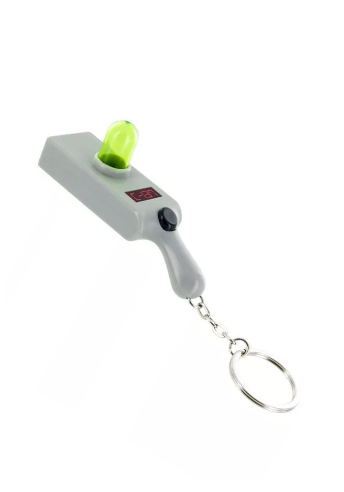 RICK AND MORTY Portal Gun Light Projection Keychain