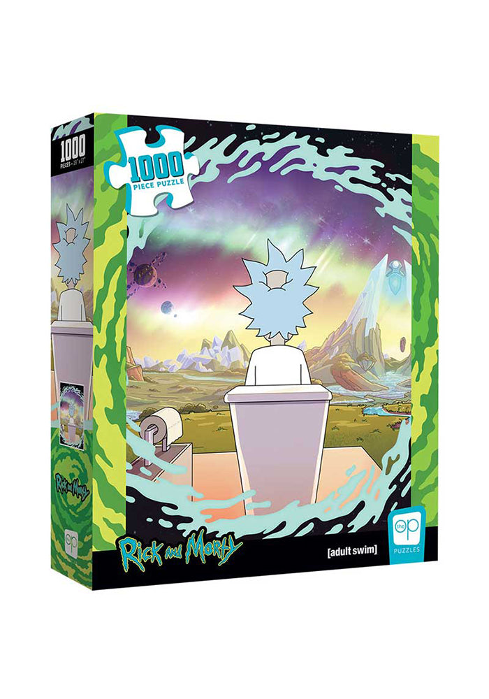 RICK AND MORTY Rick And Morty Shy Pooper 1000 Piece Puzzle
