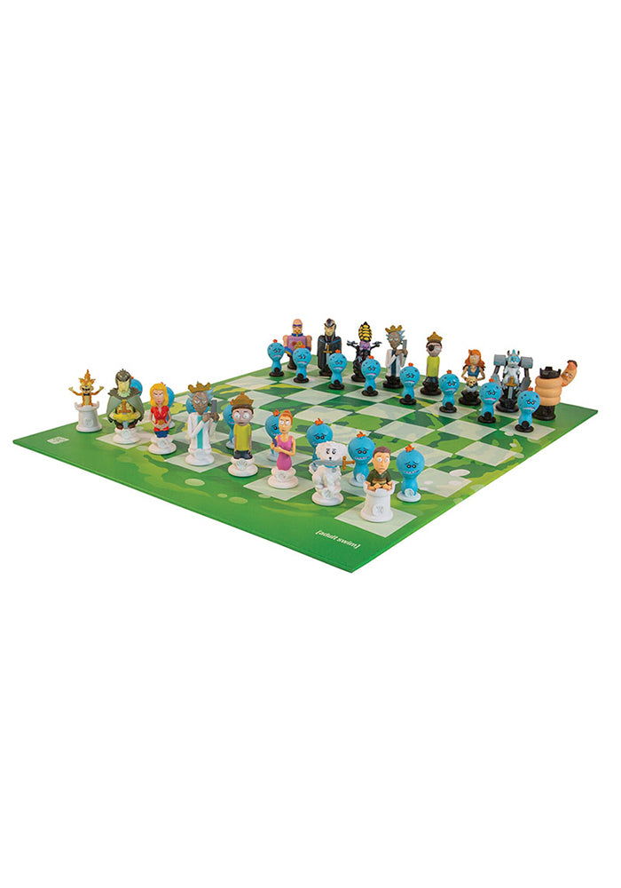 RICK AND MORTY Rick and Morty Collector's Chess Set