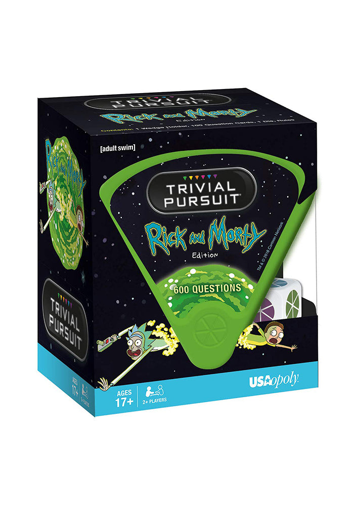 RICK AND MORTY Trivial Pursuit: Rick And Morty Edition Board Game