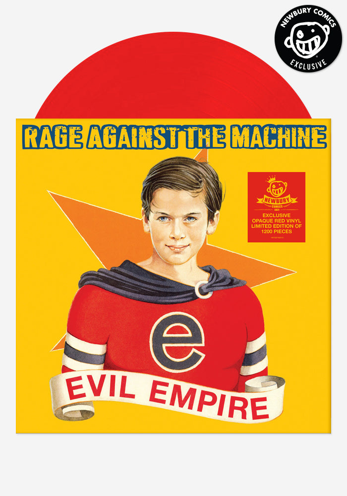 RAGE AGAINST THE MACHINE Evil Empire Exclusive LP