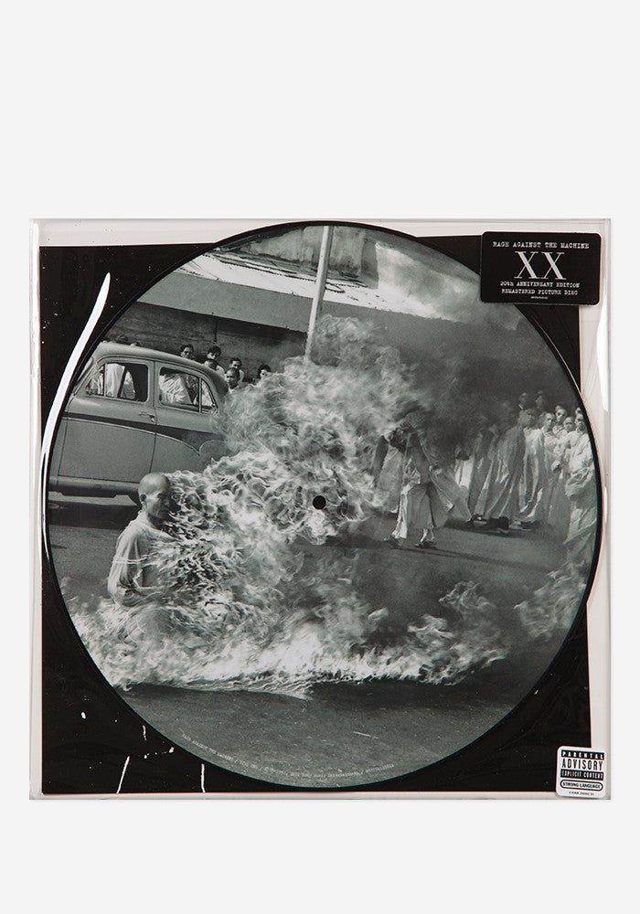 RAGE AGAINST THE MACHINE Rage Against The Machine LP Picture Disc