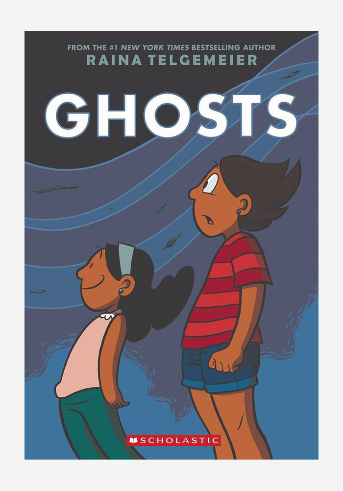 RAINA TELGEMEIER Ghosts Graphic Novel