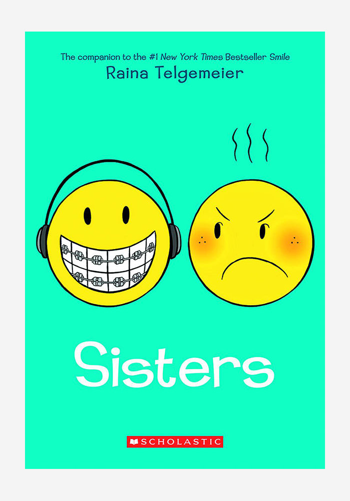 RAINA TELGEMEIER Sisters Graphic Novel