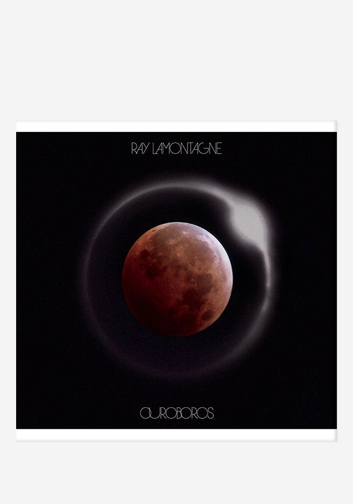 RAY LAMONTAGNE Ouroboros With Autographed CD Booklet
