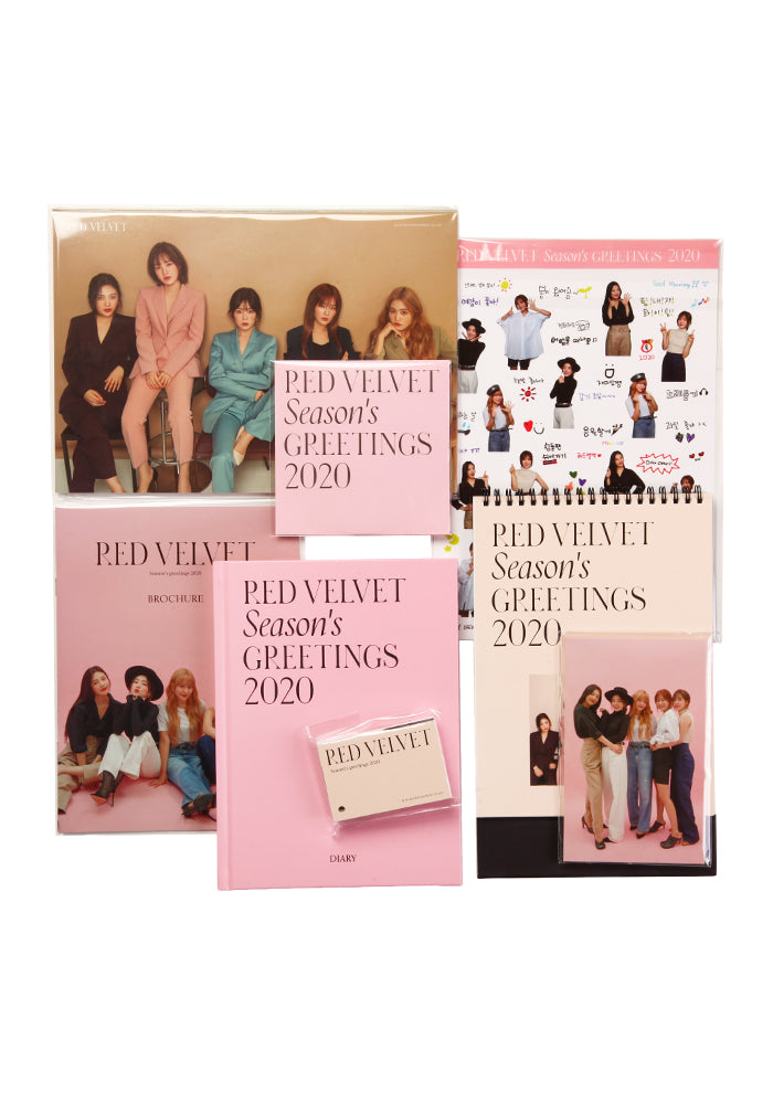 RED VELVET Red Velvet Seasons Greetings 2020 Box Set