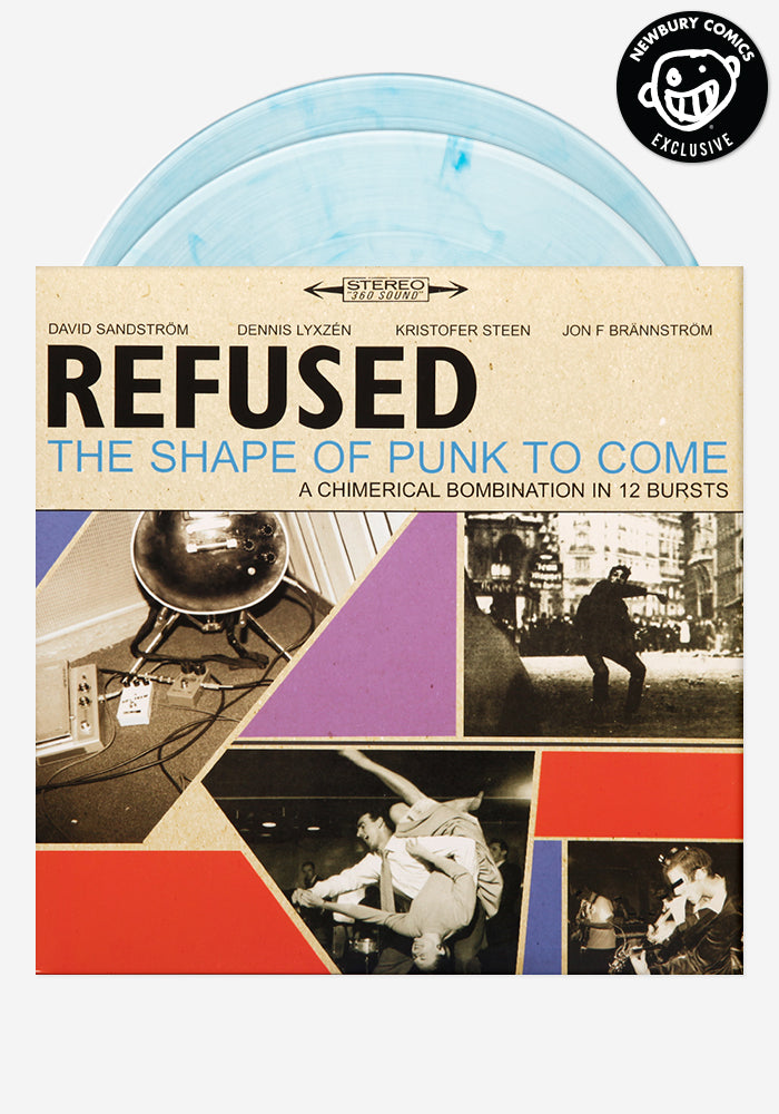 Refused The Shape Of Punk To Come Exclusive 2 Lp Color