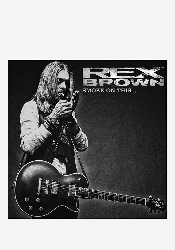 REX BROWN Smoke On This... With Autographed CD Booklet