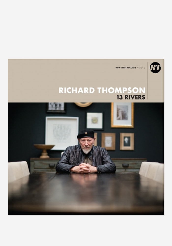 RICHARD THOMPSON 13 Rivers CD With Autographed Booklet