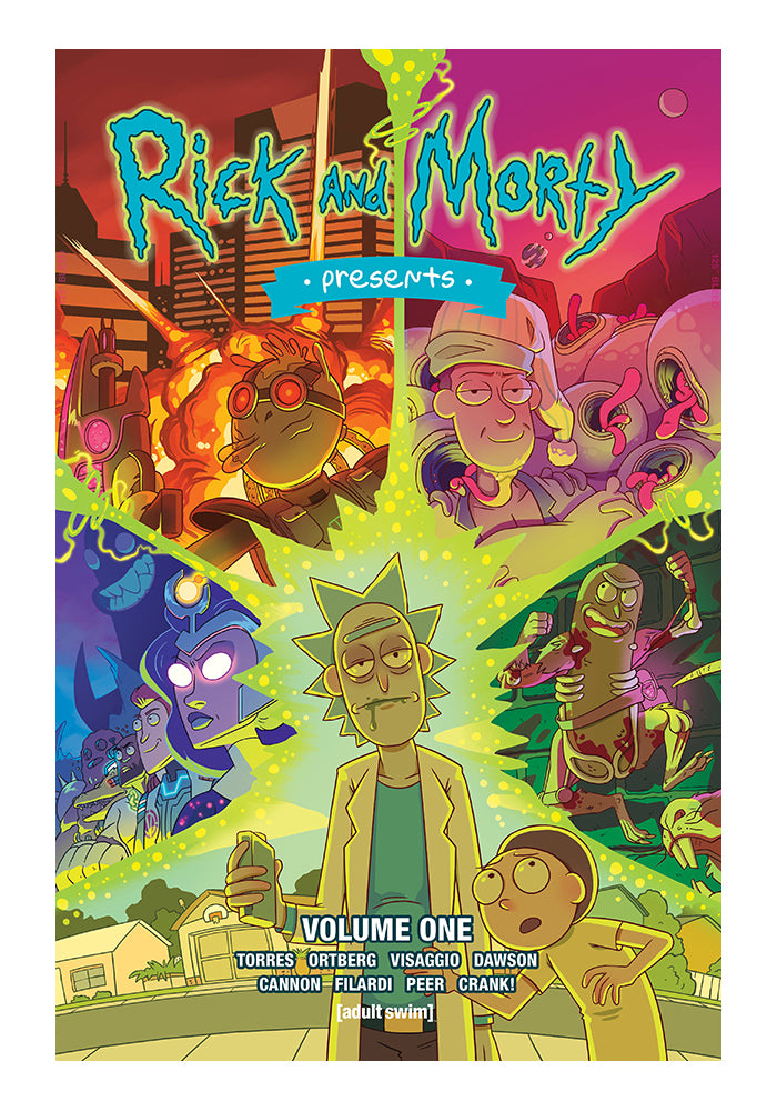 ONI PRESS Rick & Morty Presents Vol 1 Graphic Novel