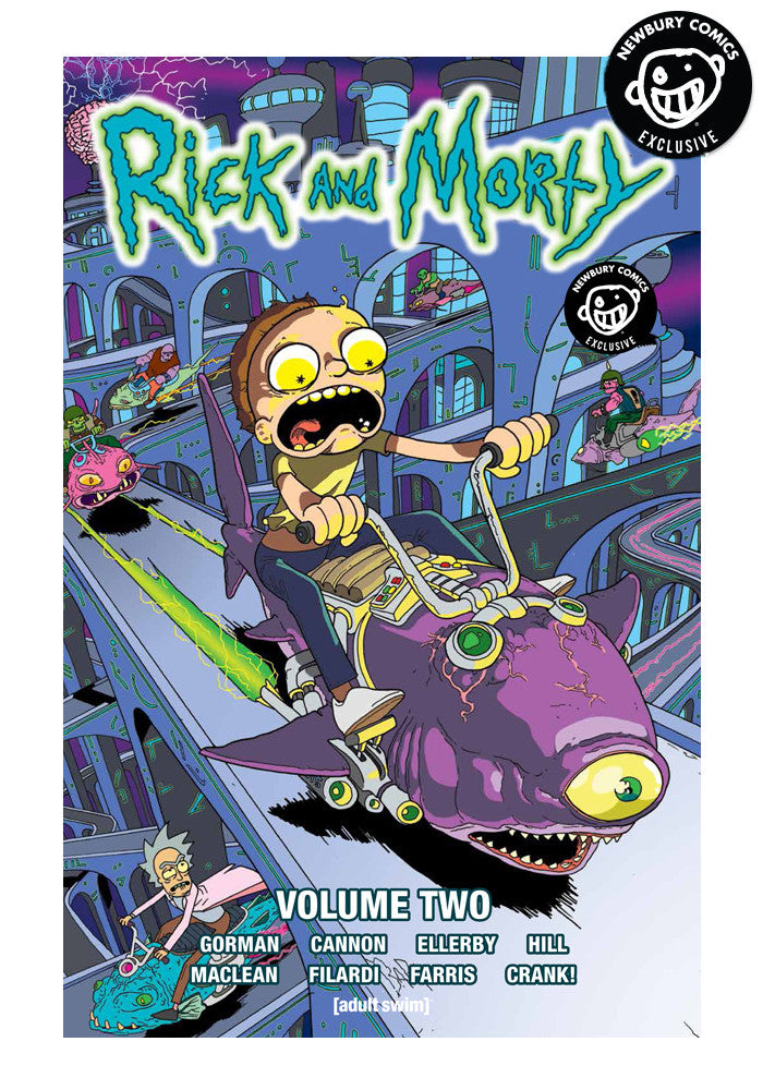 ONI PRESS Rick & Morty Vol. 2 Exclusive Variant Graphic Novel